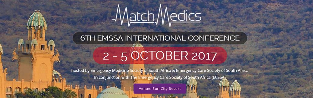 Visit MatchMedics at stand 25 at the EMSSA International Conference