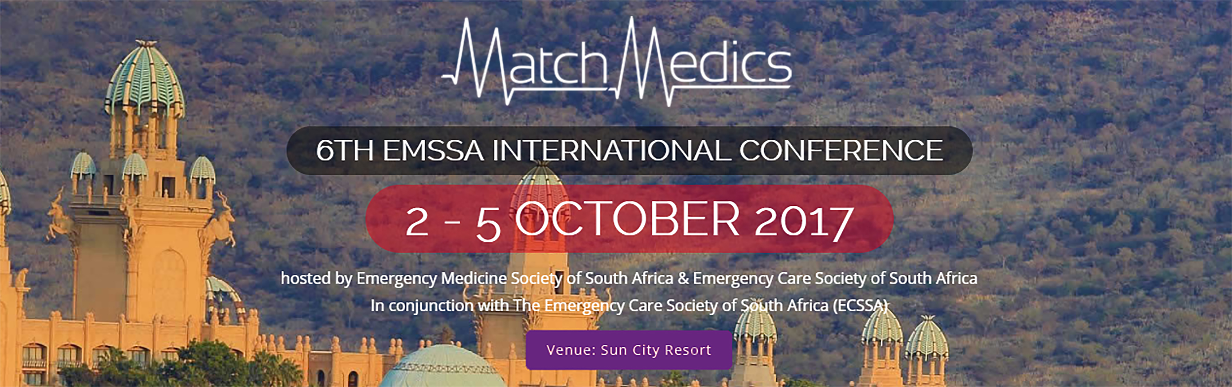 Visit MatchMedics at stand 25 at the EMSSA International